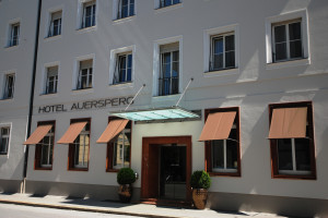 Exterior view of Hotel Auersperg.