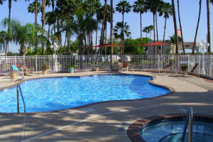 Outdoor Pool at the Victoria Palms Inn and Suites