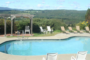 Outdoor pool at The Wildflower Inn.