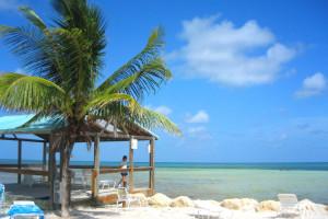 The beach at Bonefish Resort.