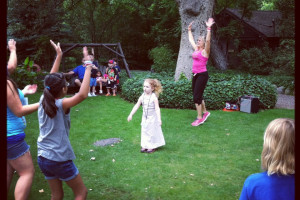 Kids playing at Briar Patch Inn.