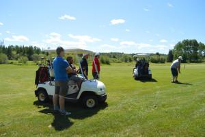 Golf course at Mattawa Golf & Ski Resort.