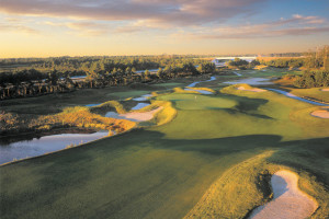 Golf course near Forest Dunes Ocean Front.