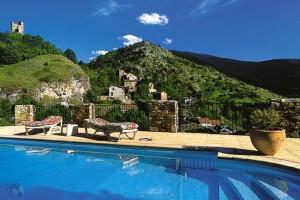 Outdoor pool at L'Atalaya.
