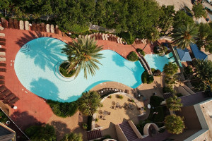 Outdoor pool at South Shore Harbour Resort & Spa.