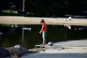 Fishing at Split Rock Resort & Golf Club.