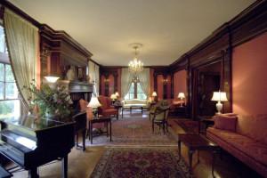 House interior at Cortland Alumni House.