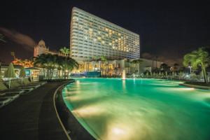 Outdoor pool at Riu Palace Antillas Hotel.