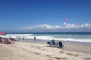 The beach at Intracoastal Realty.