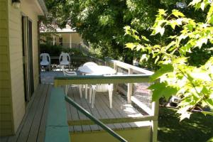 Deck at Alta Sierra Village Inn.