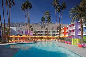 Outdoor pool at The Saguaro Palm Springs.