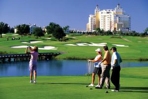 Golf courses near Florida Paradise Villas.