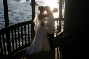 Wedding at Shore Cliff Lodge
