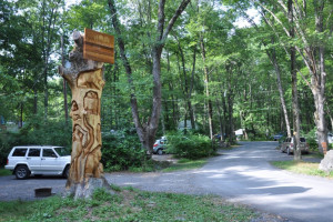 Entrance at Mountain Vista Campground