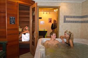 Rental interior at Big Powderhorn Mountain Resort.