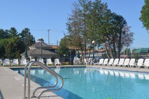 Outdoor Pool at Ambers Hideaway