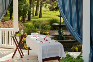 Spa services at HideAway Country Inn.