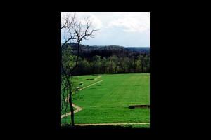 Golf course near Shady Lane Cabins & Motel.