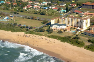 Aerial view of Kapenta Bay Resort.