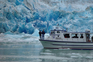 Tracy Arm glacier cruise near A Pearson's Pond Luxury Suites and Adventures.