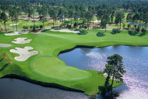 Golf course near Beach Cove Resort.