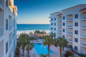 Exterior view of Palm Beach Resort Orange Beach.
