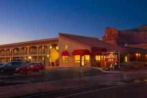 Exterior view of Desert Quail Inn.