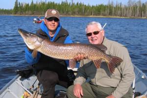 Fishing at Edmund Lake Lodge