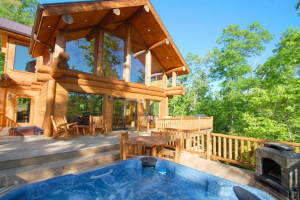Luxury Vacation Rental at Bryson City Cabin Rentals