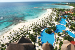 Aerial View of Barceló Maya Tropical