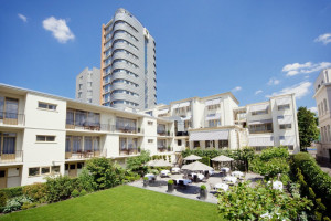 Exterior view of Bilderberg Parkhotel Rotterdam.