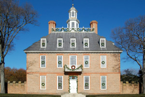 Colonial Williamsburg Governors Palace near Holiday Inn Club Vacations Williamsburg Resort.