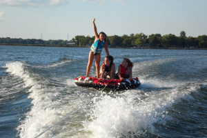 Water sports at Shady Rest Resort.
