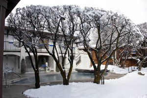 Winter time at St. Moritz Lodge & Condominiums.