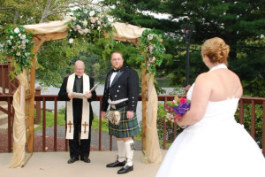 Wedding at Cove Haven Entertainment Resorts.