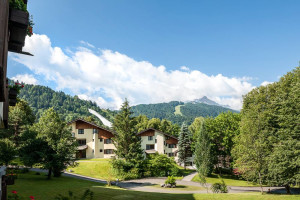 Exterior view of Dorint Sporthotel Garmisch-Partenkirchen.