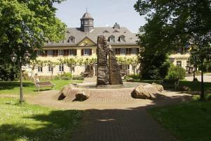 Exterior view of Hotel Jagdschloss Niederwald.