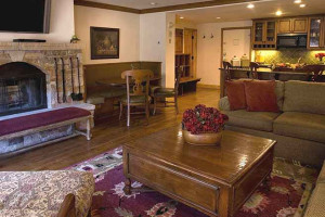 Guest room at Lodge Tower.