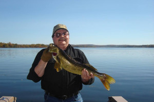 Fishing at Anglers Retreat.