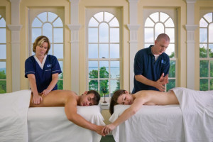 Couples spa treatment at The Briars.