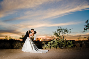Wedding at Tanque Verde Ranch.