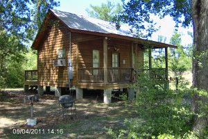 Cabin exterior at Berry Creek, LLC.