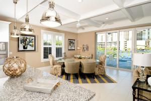 Rental living room at Condo World.