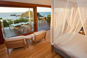 Guest room at Lizard Island.