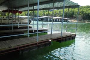 Marina at Calm Waters Resort.