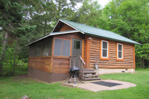 Cabin at Flambeau Forest Resort.