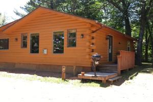 Cabin at Johnson's Resort.
