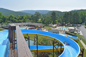 Water park at Yogi Bear's Jellystone Park Luray.