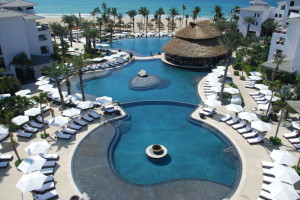 Outdoor pool at Cabo Azul Resort & Spa.