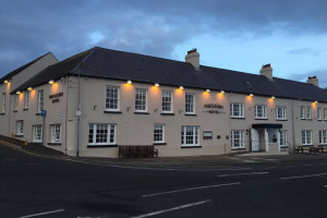 Exterior view of Portaferry Hotel.
